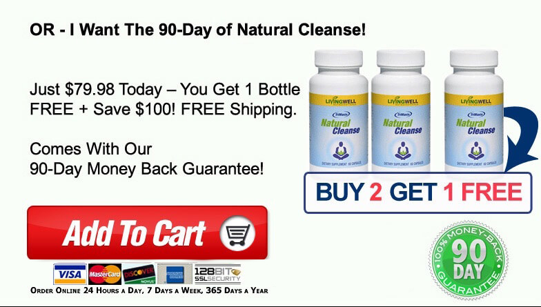 Natural Cleanse Buy 2 Get 1 Free